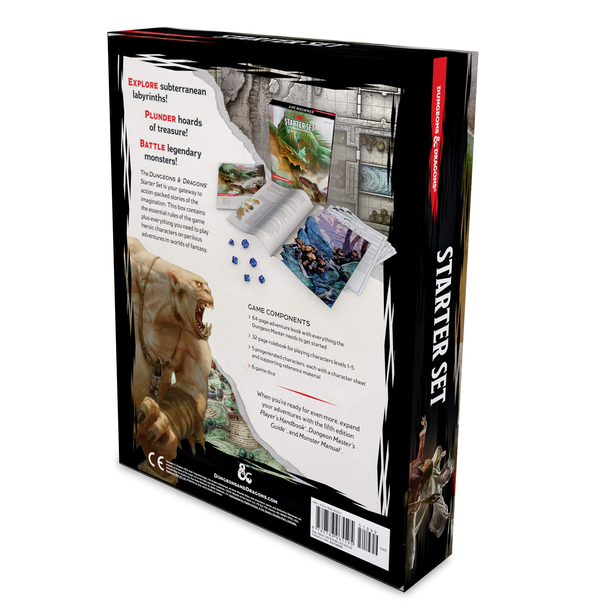 Dungeons & Dragons Starter Set: Wizards RPG Team
