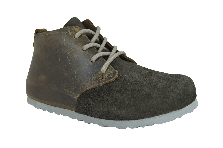 Birkenstock Dundee 692063 - Zapatos Ante Unisexe Occasionnel, Noir-n, 44,0 I