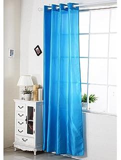 Woltu 125 Gardine Vorhang Transparent Mit Sen Lichtdurchlssig Wohnzimmer Kinderzimmer Schlafzimmer Kche Senschal Dekoschal