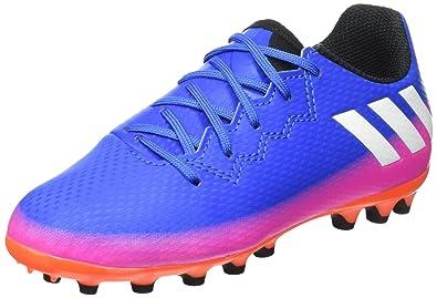 Adidas Messi 16.3 AG J, Zapatillas de Fútbol Unisex niños: Amazon.es: Zapatos y complementos