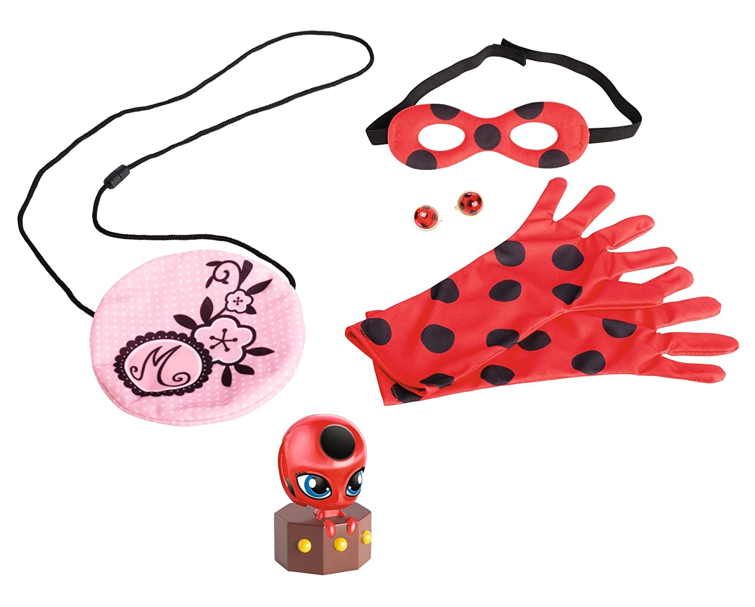 amazon com miraculous be marinette and ladybug role play pack