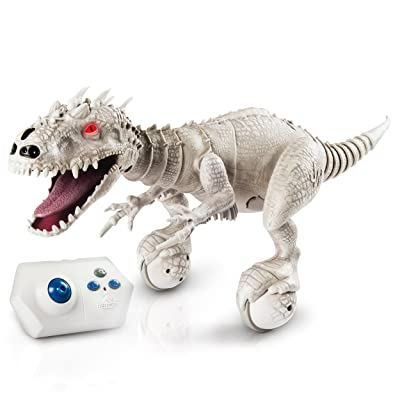 Zoomer Dino, Jurassic world INDOMINUS REX-Collectible Robotic Edition: Toys & Games