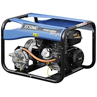 SDMO PERFORM 3000 GAZ Grupo Electrógeno Monofásico Profesional ...
