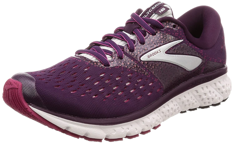 Brooks 16 Womens Glycerin 16 Brooks B077KDFBDY 7 B(M) US|Purple/Pink/Grey 9cf7d9