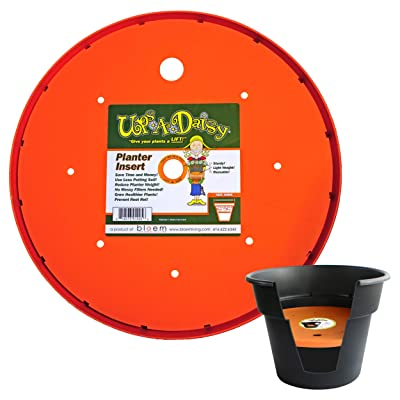 "Bloem Ups-A-Daisy Round Planter Lift Insert - 17"" : Flower Pot : Garden & Outdoor"