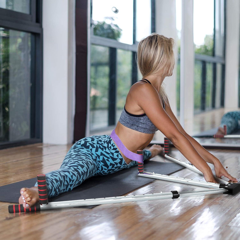 ALAMATA Leg Stretcher Leg Split Stretching Machine Leg Flexibility Stretcher Strength Training for Yoga Exercise, Sports Fitness, Ballet, Gymnastics : Sports & Outdoors