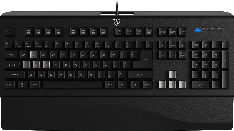 Thunder X3 TK40- Teclado gaming Híbrido Mecánico- ( Efecto LED, Mayor precisión, respuesta ultra rápida, capacidad- anti-ghosting) Color Negro