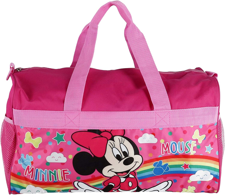 """Minnie Mouse Girls 18"""" Pink Duffel Bag Standard"""