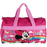 Disney Kids' Minnie Mouse Travel Duffle Bag, Pink