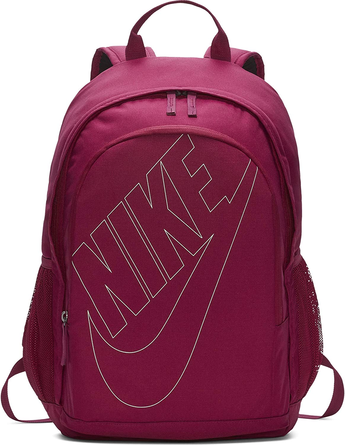 Nike Sportswear Hayward Futura Backpack for Men, Large Backpack with Durable Polyester Shell and Padded Shoulder Straps, True Berry True Berry Frosted