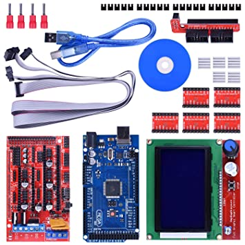 Amazon.com: longruner 3d Printer Controller Kit Mega 2560 R3 ...