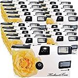 """20 x PHOTO PORST matrimonio camera/fotocamera usa e getta """"crema / Rose (istruzioni in tedesco, con Flash e batterie, da 27 foto, ISO 400 Fuji)"""