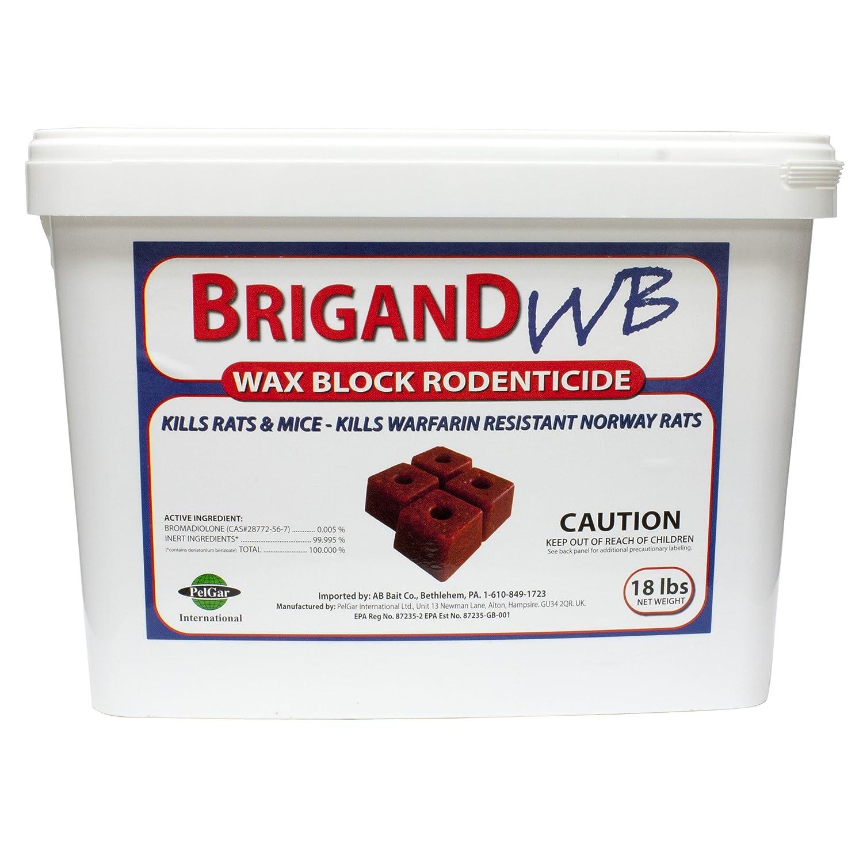 DPD Brigand WB - Wax Block Rodenticide 18lb