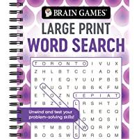 Brain Games - Large Print Word Search (Swirls)