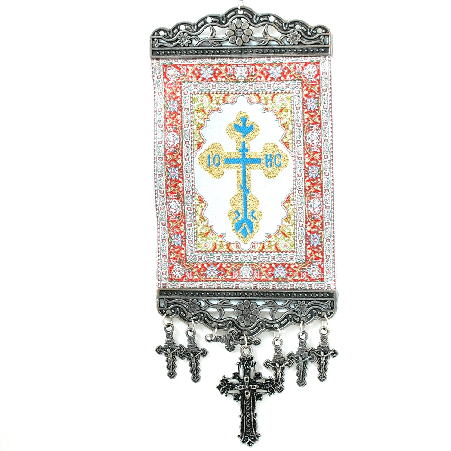 Orthodox, Cross Wall Hanging Tapestry Banner N/A 9118