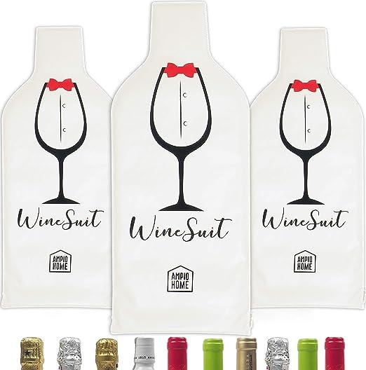 Amazon.com: Protector de botella de vino bolsa de viaje ...
