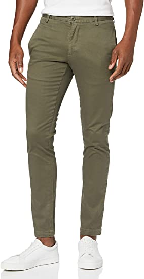 Marca Amazon - find. Pantalones Chino Skinny Hombre
