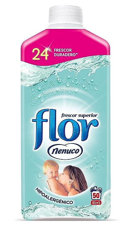 Flor Nenuco Suavizante para La Ropa Concentrado Hipoalergénico - 1100 ml