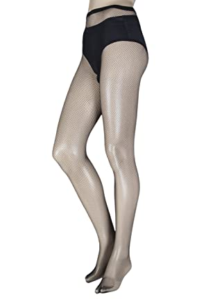 ce57b51f94f Ladies 1 Pair Trasparenze Ambra Micro Fishnet Tights  Amazon.co.uk  Clothing