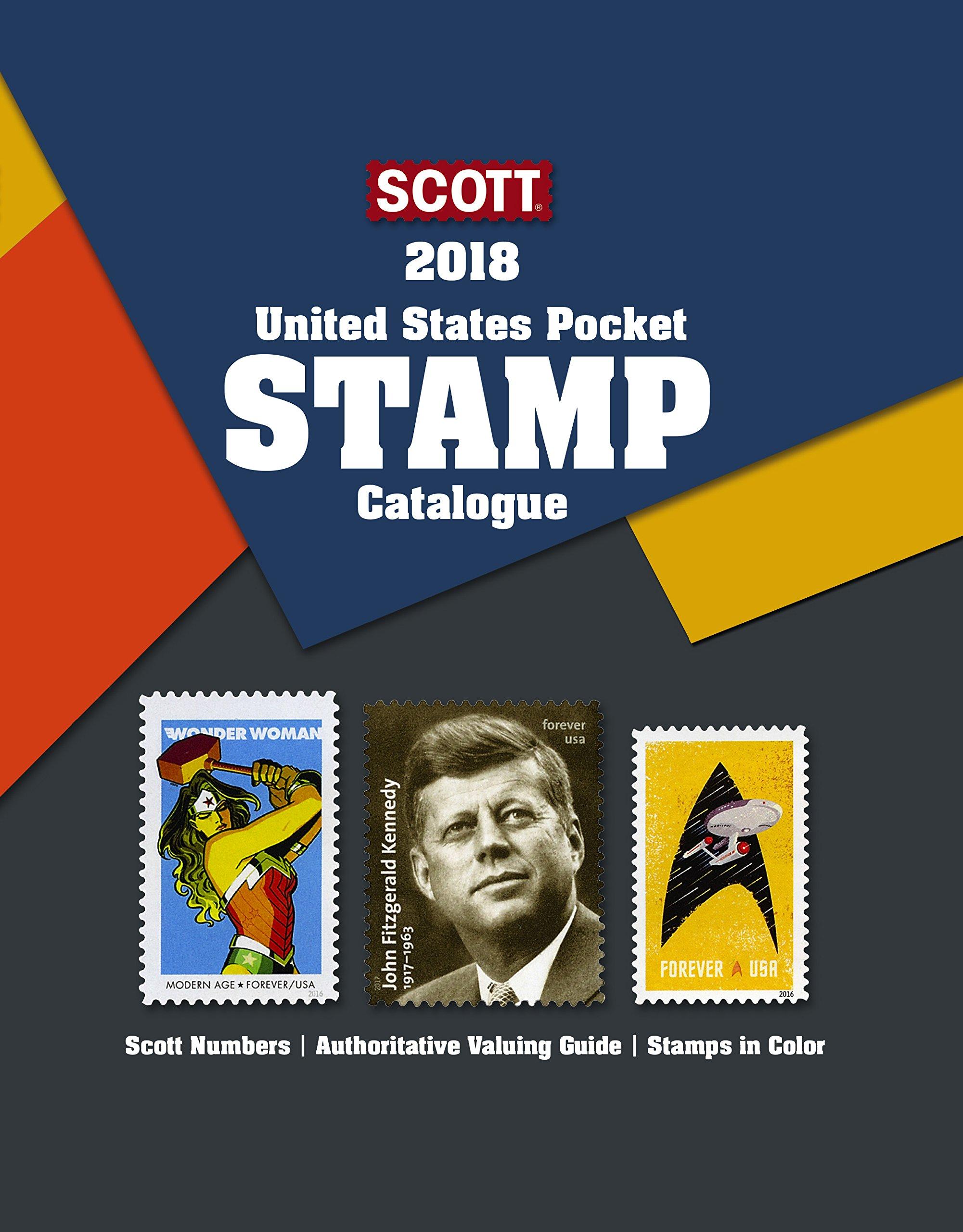 2018 Scott U.S. Pocket Stamp Catalogue (Scott Us Pocket Catalogue)