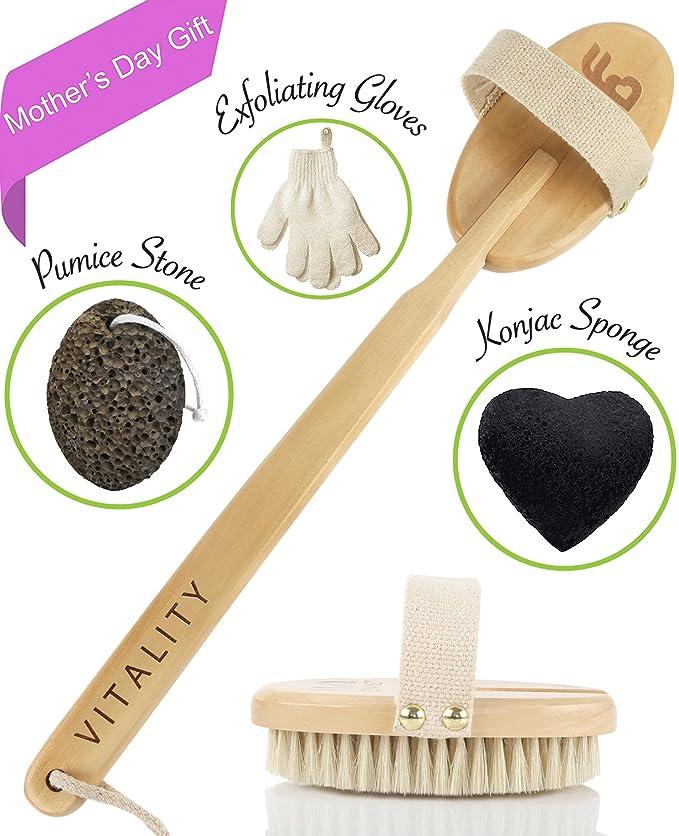 68 opinioni per Eccellente spazzola per il corpo, sistema esfoliante per spazzolare la pelle