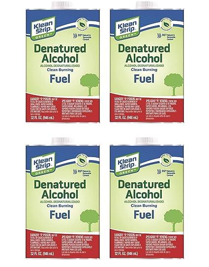 Amazon com: Klean-Strip Green QKGA75003 Denatured Alcohol, 1