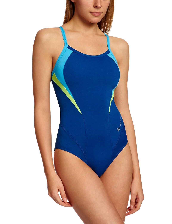 Aqua Sphere Women's Swimsuit Jasmine Blue/Light Blue, 36