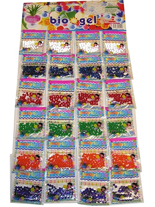 24 bags water beads aqua gems bio gel balls crystal soil wedding 24 bags water beads aqua gems bio gel balls crystal soil wedding vase decoration junglespirit Gallery