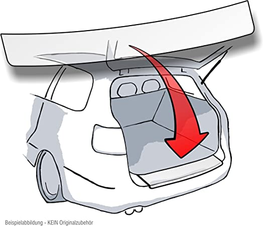 Lackschutzshop Passform Lackschutzfolie als Ladekantenschutz passgenau transparent 150/µm