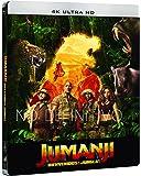 Jumanji: Bienvenidos A La Jungla (4K UHD) - Edición Metálica (Exclusiva Amazon) [Blu-ray]