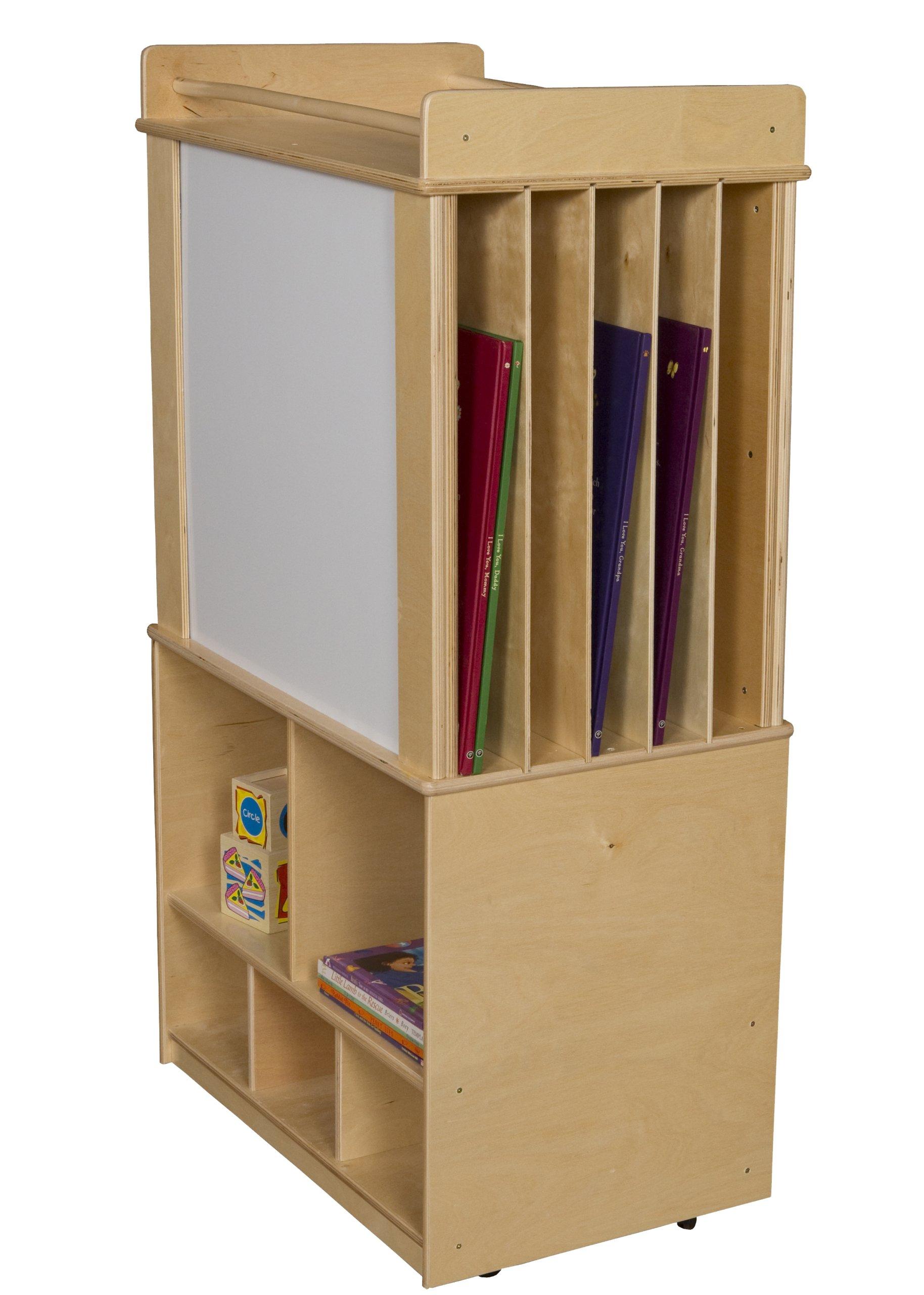 Wood Designs WD99549 Store-It-All Teaching Center w/ot Trays