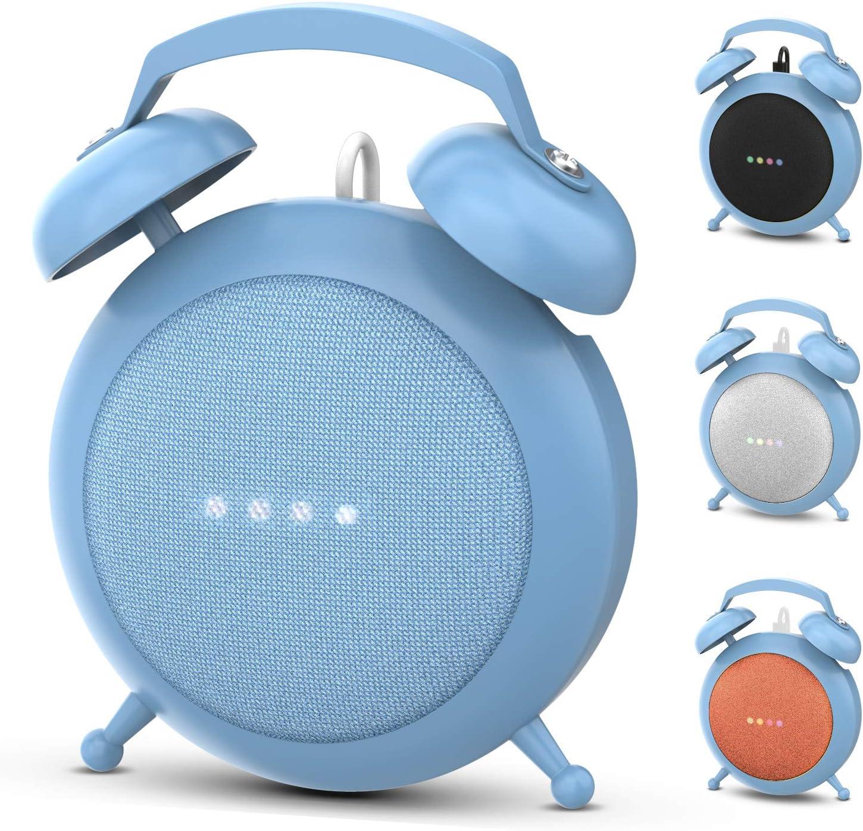 Soporte Stand Estilo Reloj Para Google Home Mini azul
