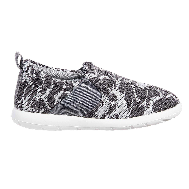 Ash Geo Print Isotoner Zenz Women's Sport Mesh Elastic Slip-On Walking shoes