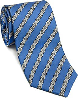 product image for Josh Bach Men's Bicycle Chains Silk Necktie, Made in USA