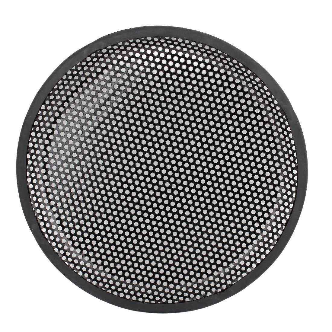 Uxcell a14060900ux0042 10 Dia Metal Mesh Car Woofer Protective Cover Speaker Grill Black