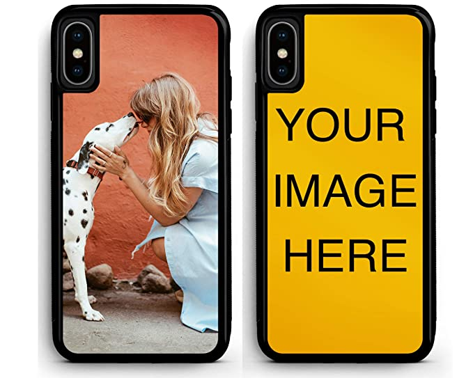 wholesale dealer eb06b ed1fd Custom iPhone 8 Plus Cases iPhone Cover iZERCASE [Personalized Custom  Picture CASE] Make Your Own Phone Case (Black, iPhone 8 Plus)