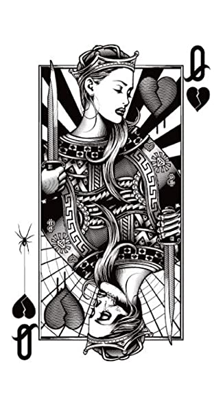 Black Queen Of Hearts Www Imagenesmy Com