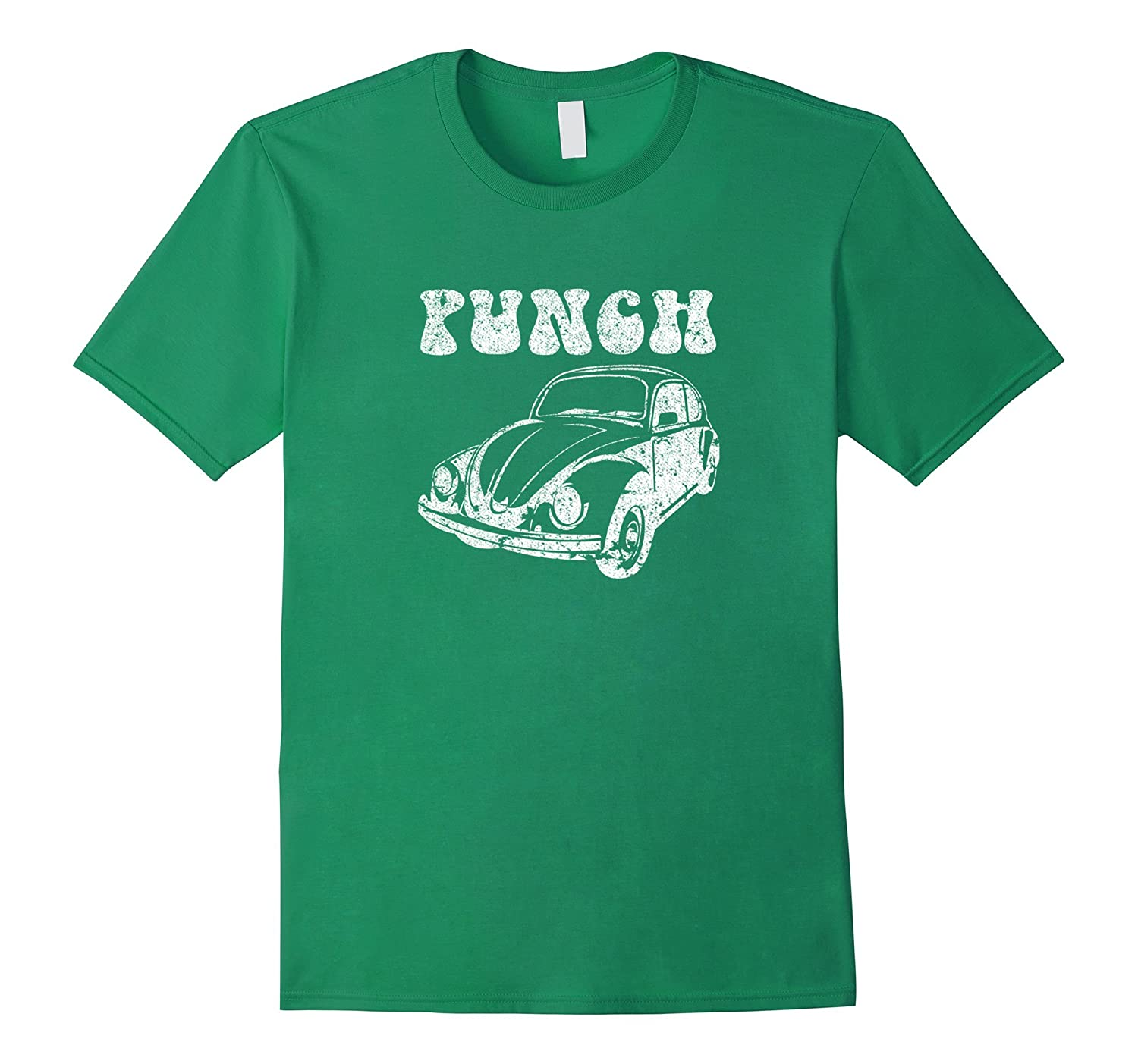Punch Bug Vintage Car T Shirt Art Artvinatee