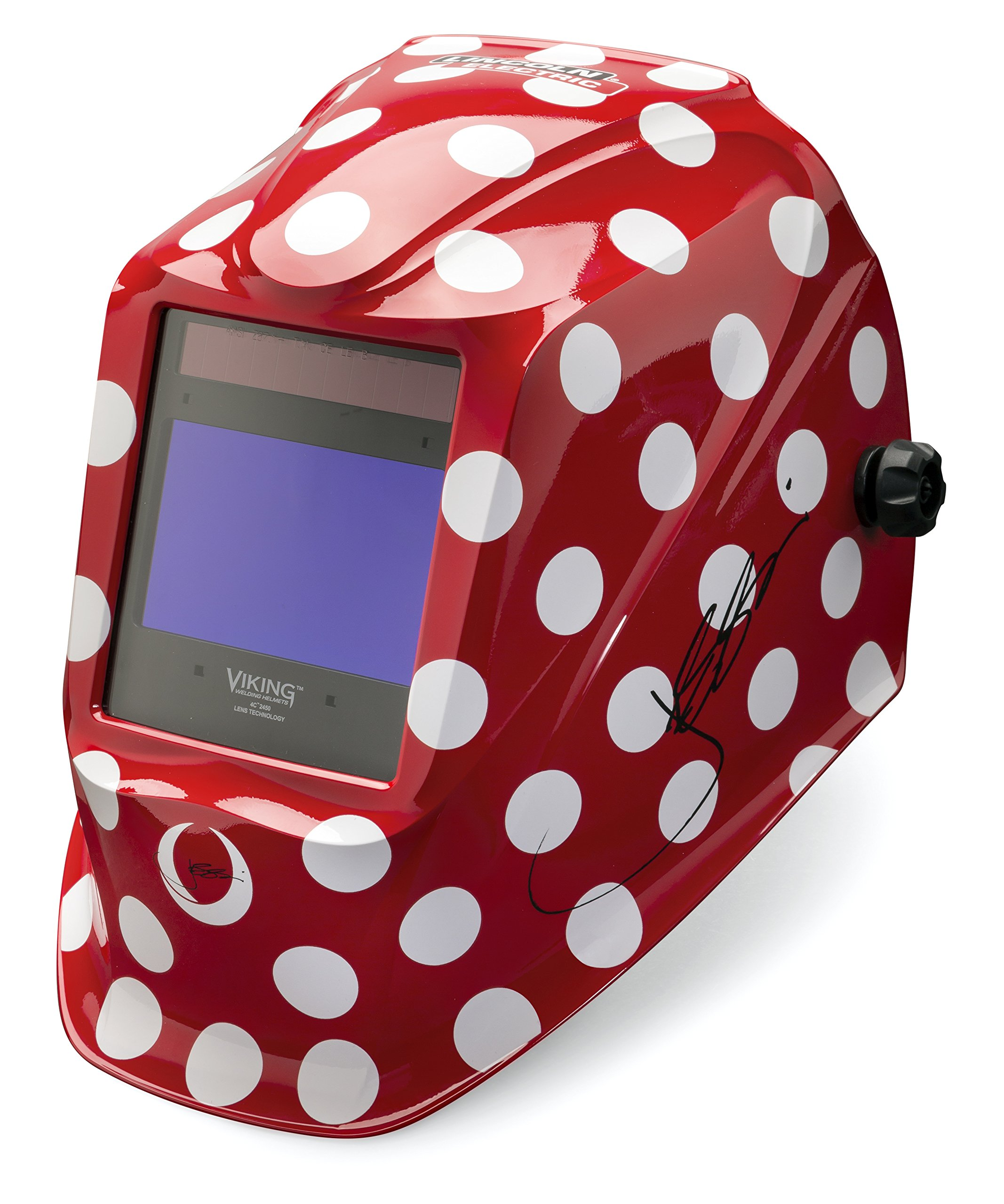 Lincoln Electric VIKING 2450 Jessi the Welder Welding Helmet with 4C Lens Technology - K4437-3 by Lincoln Electric