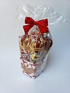 Popcornopolis Mini 5-cone Variety Popcorn Gift Basket, Gluten Free…