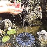 SOARAISE Solar Fountain Pump, Solar Bird Bath