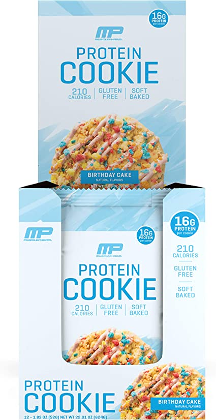 Awesome Amazon Com Musclepharm Combat Cookie Birthday Cake Protein Funny Birthday Cards Online Overcheapnameinfo