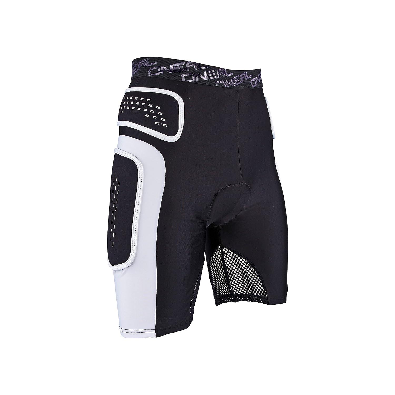 O& 039;Neal Pro Protektoren Hose Schwarz Weiß Mountain Bike Sport Freizeit Shorts, 1286