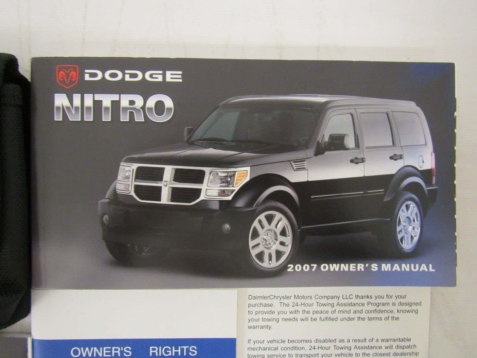 2007 dodge nitro owners manual guide book amazon com books rh amazon com 2010 dodge nitro repair manual 2007 dodge nitro repair manual free download
