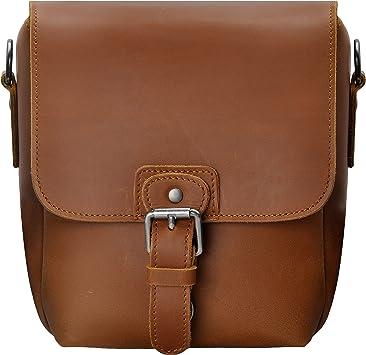 Amazon Com Small Leather Camera Bag Zlyc Vintage Dslr Bag Removable Shockproof Padded Camera Case Unisex Messenger Shoulder Bag Satchel Brown Electronics