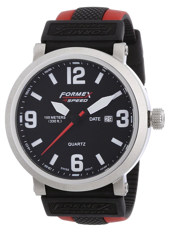 Formex 4 Speed Herren-Armbanduhr XL TS725 Analog Quarz Silikon 72512.1070