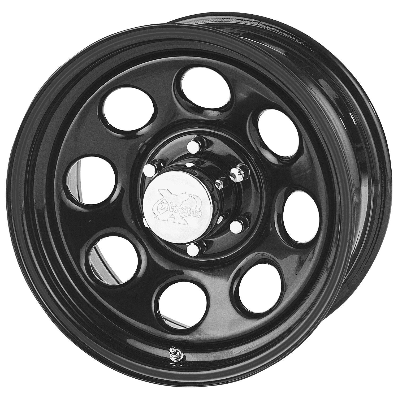 17x8//5x5 Pro Comp Steel Wheels Series 98 Wheel with Gloss Black Finish