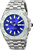 ANDROID Men's AD702BBU Corsair Analog Japanese-Automatic Silver Watch