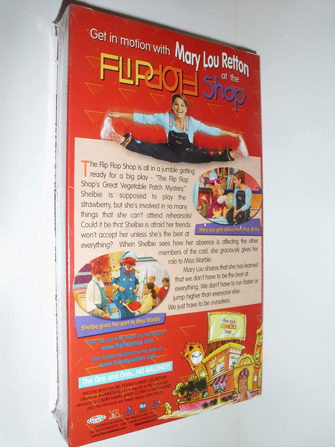 4d3818aee35f9 Amazon.com  Mary Lou s Flip Flop Shop Having to Hurry (VHS)  Movies   TV