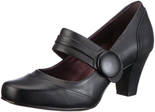 d8e2b2cdb84 Clarks Women s Alpine Clover Pumps Black Size  8  Amazon.co.uk ...